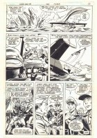 Weird War Tales #99 p.12 - Soldiers vs. Dinosaurs End Page - 1981  Comic Art
