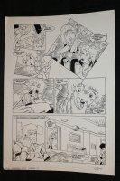 Robotech Masters #12 p.11 - The Barracks - 1986 Signed Comic Art