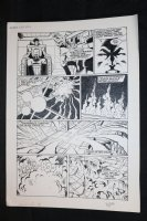 Robotech Masters #17 p.12 - Action - 1987 Signed Comic Art