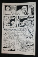 Robotech Masters #19 p.15 - Gunfight and Getaway - 1987 Signed Comic Art