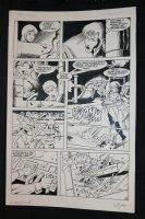 Robotech Masters #19 p.15 - Gunfight and Getaway - 1987 Signed Comic Art