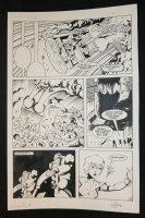 Robotech Masters #19 p.17 - Crash - 1987 Signed Comic Art