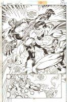 Baptrip Superman 3D p.27 - Superman Action Splash - Signed Comic Art