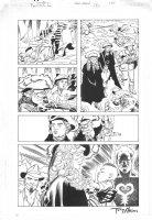 John Constantine - Hellblazer Special: Papa Midnite #2 p.22 - signed - 2005 Comic Art