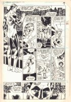 Green Lantern #180 p.6 - Hal Jordan Stops Purse Robber - 1984 Comic Art