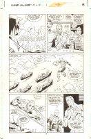 Super Soldier: Man of War #1 p.8 - Superman / Captain America Amalgam Hero and Jimmy Olsen - 1997 Comic Art