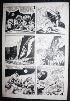 Fight the Enemy? #1 p.2 - LA - Scaling a Mountain - 1966 Comic Art