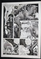 Eerie #38 p.3 - LA - 'The Carrier of the Serpent' B&W Ink Wash - 1972 Comic Art