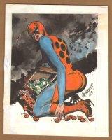 Ladybug Character Concept Art - 1965 Comic Art