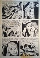 Fight the Enemy #1 p.8 - LA - ' When It's Time to Die...' - 1966 Comic Art