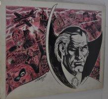 Drew Murdoc Portrait And Montage Commission - 1970 Comic Art