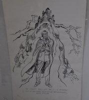 Doctor Drew Murdoc Character Live Art  Comic Art