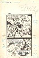 Flash Force 2000 #1 p.1 - Terminus 3 - Matchbox Car Insert Comic Book - 1983 Comic Art