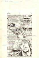 Flash Force 2000 #1 p.3 - Working on Cars - Matchbox Car Insert Comic Book - 1983 Comic Art