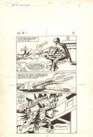 Flash Force 2000 #1 p.4 - Gun Turret Action - Matchbox Car Insert Comic Book - 1983 Comic Art