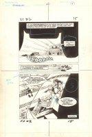 Flash Force 2000 #2 p.15 - Victory End Page - Matchbox Car Insert Comic Book - 1983 Comic Art