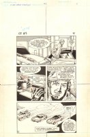 Flash Force 2000 #3 p.4 - Flash Rides with 'Vette - Matchbox Car Insert Comic Book - 1983 Comic Art