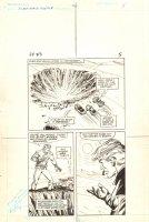 Flash Force 2000 #3 p.5 - Giant Crater - Matchbox Car Insert Comic Book - 1983 Comic Art