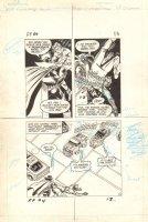 Flash Force 2000 #4 p.13 - Flash vs. Terminus 3 Action - Matchbox Car Insert Comic Book - 1983 Comic Art