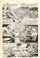 GH #? p.6 - Fight in the Snow - 1986 Comic Art