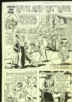 Grimm's Ghost Stories #55 'Love And Let Love' 5 pager Comic Art