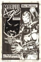 Marvel Age War Machine Fanzine Published? Cover - 1994 Signed