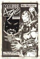 Marvel Age War Machine Fanzine Published? Cover - 1994 Signed