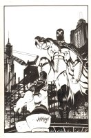 X / Hero Illustrated Special #1 Cover - Dark Horse - 1994 Signed