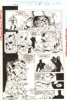 Cable #14 p.27  -Cable, S'ym, and Belasco - 1994 Comic Art