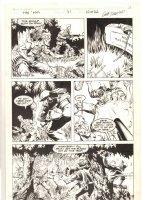 The 'Nam #37 p.10 - Gunfight in the Jungle - 1989 Comic Art