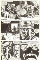 The 'Nam #30 p. 13 - Soldiers in a Foxhole - 1989 Signed Comic Art