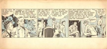 Rusty Riley Strip A-27 (1947) Comic Art