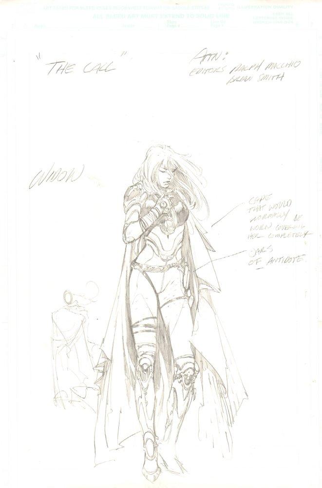 anthony s comic book art