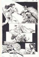 Wonder Woman #50 p.19 - Wonder Woman vs. Ares - 2016 Comic Art