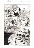 Wonder Woman #38 p.1 - Wonder Woman and Amazons - 2015  Comic Art