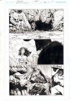 Wonder Woman #38 p.10 - Wonder Woman Action - 2015  Comic Art