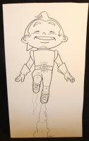 Rusty the Boy Robot - Signed Comic Art