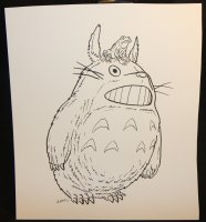 My Neighbor Totoro from Studio Ghibli Commission - Signed Comic Art