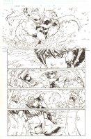 Avengers: Earth's Mightiest Heroes #3 p.21 - Wasp vs. Wendigo Action - 2011 Comic Art