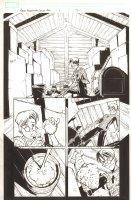 Marvel Adventures Spider-Man #6 p.12 - Peter cooking up Webbing Formula - 2005 Comic Art