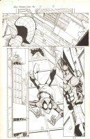 Marvel Adventures Spider-Man #27 p.8 - Spidey Caught by Night Thrasher - 2007 Comic Art