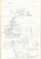 What If? Newer Fantastic Four #1 p.17 - Thanos, Wolverine, Silver Surfer, Iron Man, & Hulk - 2009 Comic Art