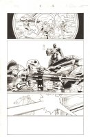 Deadpool & Cable: Split Second Infinite Comic #5 p.16 - Sniper - 2015 Comic Art
