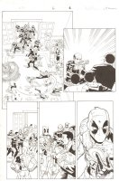 Deadpool & Cable: Split Second Infinite Comic #6 p.6 - S.H.I.E.L.D. - 2015 Comic Art
