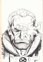 Cable Bust Commission - 2018 Signed Comic Art