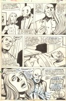 Combat Kelly #8 p.28 - Babe Gets Nazi Experiment - 1973 Signed Comic Art