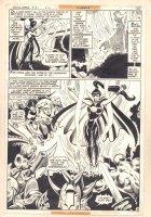 Justice League of America #161 p.9 - Zatanna Splash - 1978 Comic Art