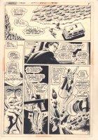 World's Finest Comics #214 p.5 - Superman Action - 1972  Comic Art