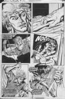 'Frankenstein' p.6 (1977) Comic Art