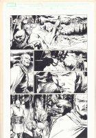 Thor #605 p.12 - Loki in Chains - Balder - 2010  Comic Art